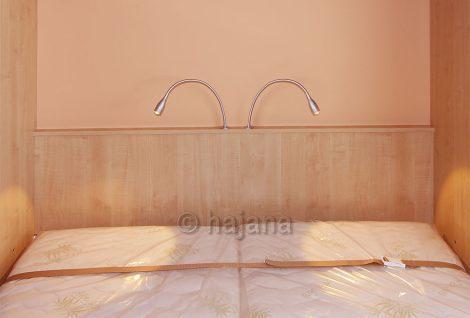 LED osvětlení pro sklápěcí postele